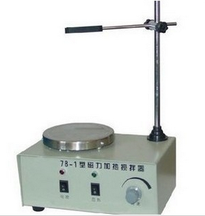 Magnetic heated stirrer