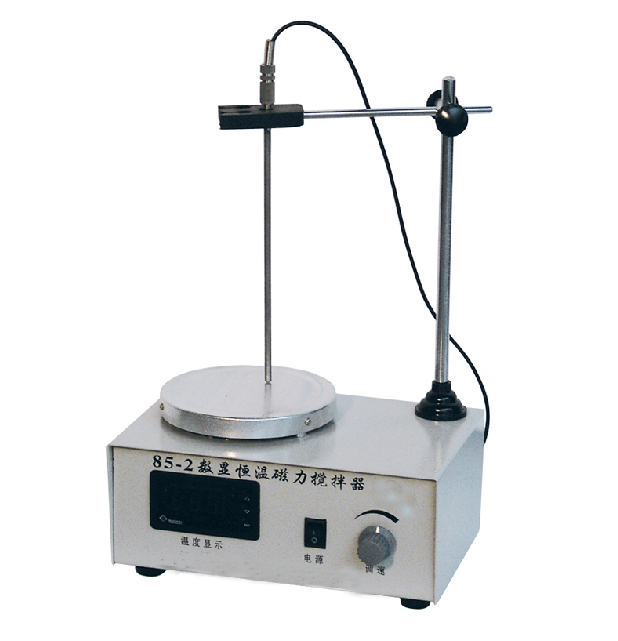 Magnetic heated stirrer with Temperature digital display